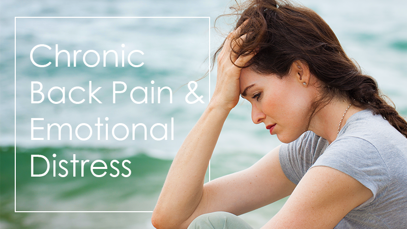 Chronic Back Pain Can Cause Emotional Distress