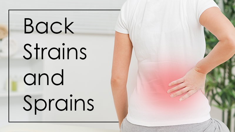 A Neurosurgeon Can Help With Back Strains and Sprains
